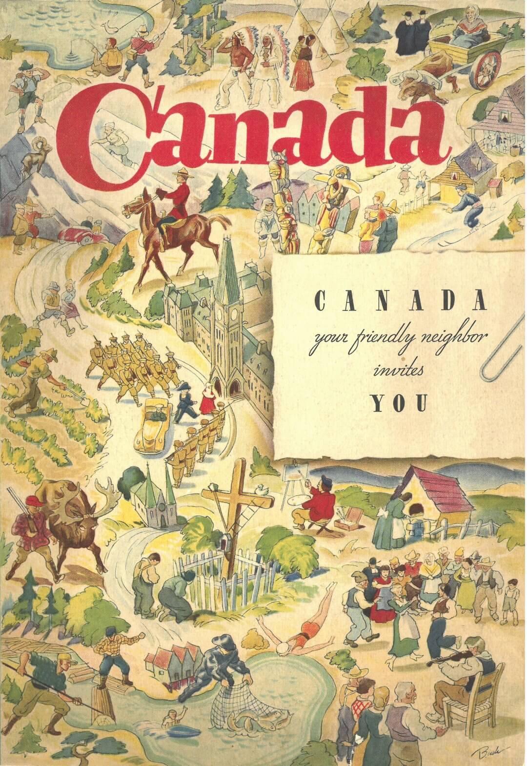 Canada invites you titre