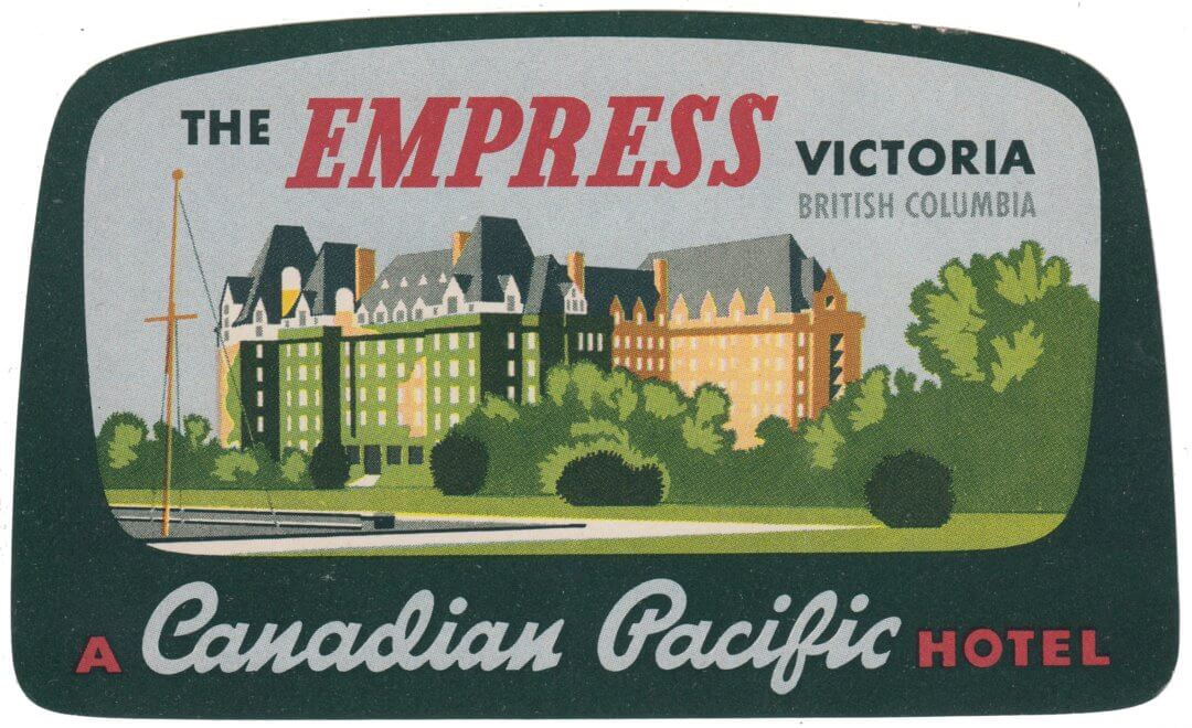 The Empress, Victoria, Canadian Pacific