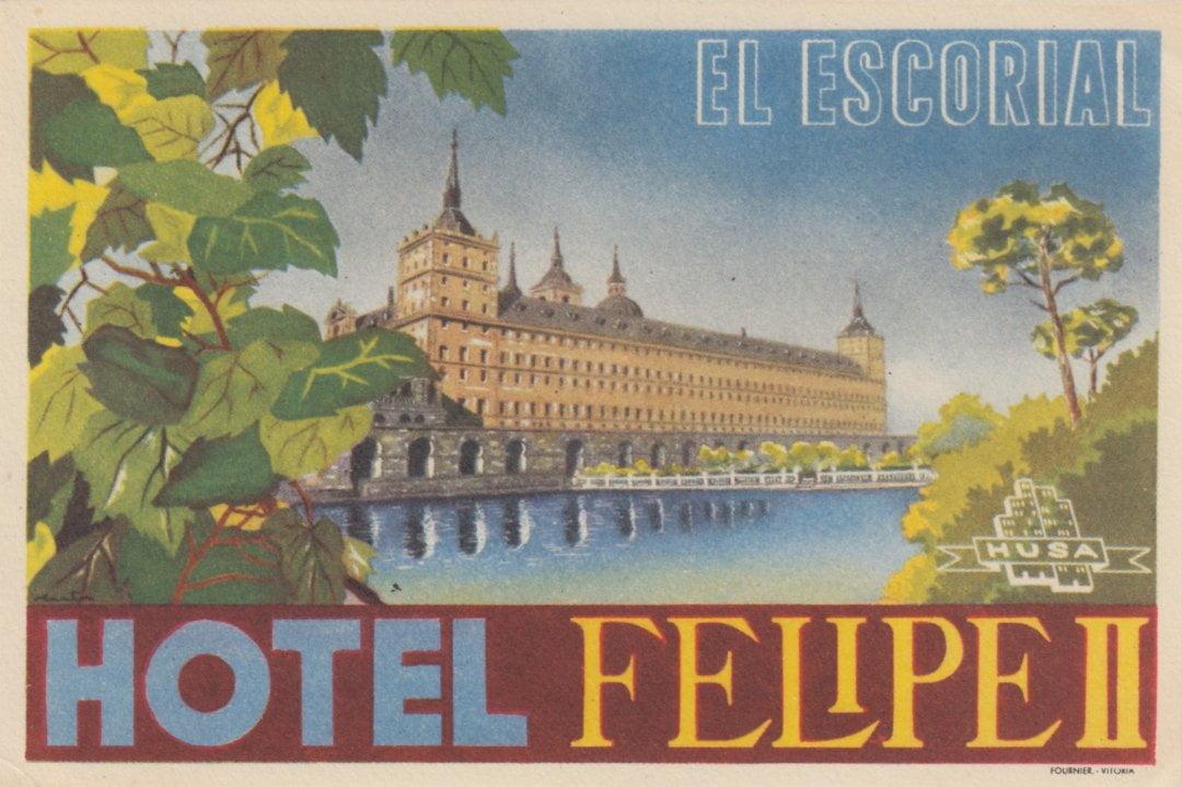 El Escorial - Hotel Felipe II