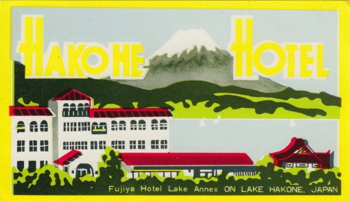 Hakone - Hakone Hotel