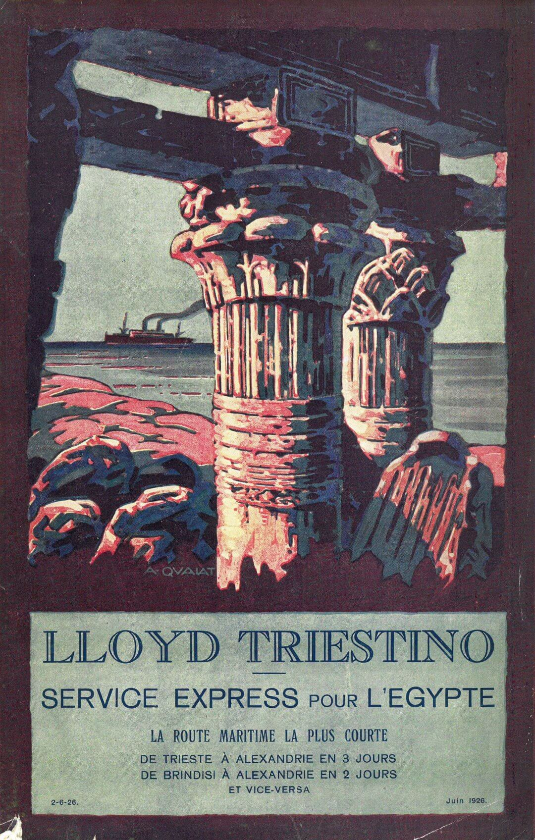 Lloyd Triestino Express to Egypt