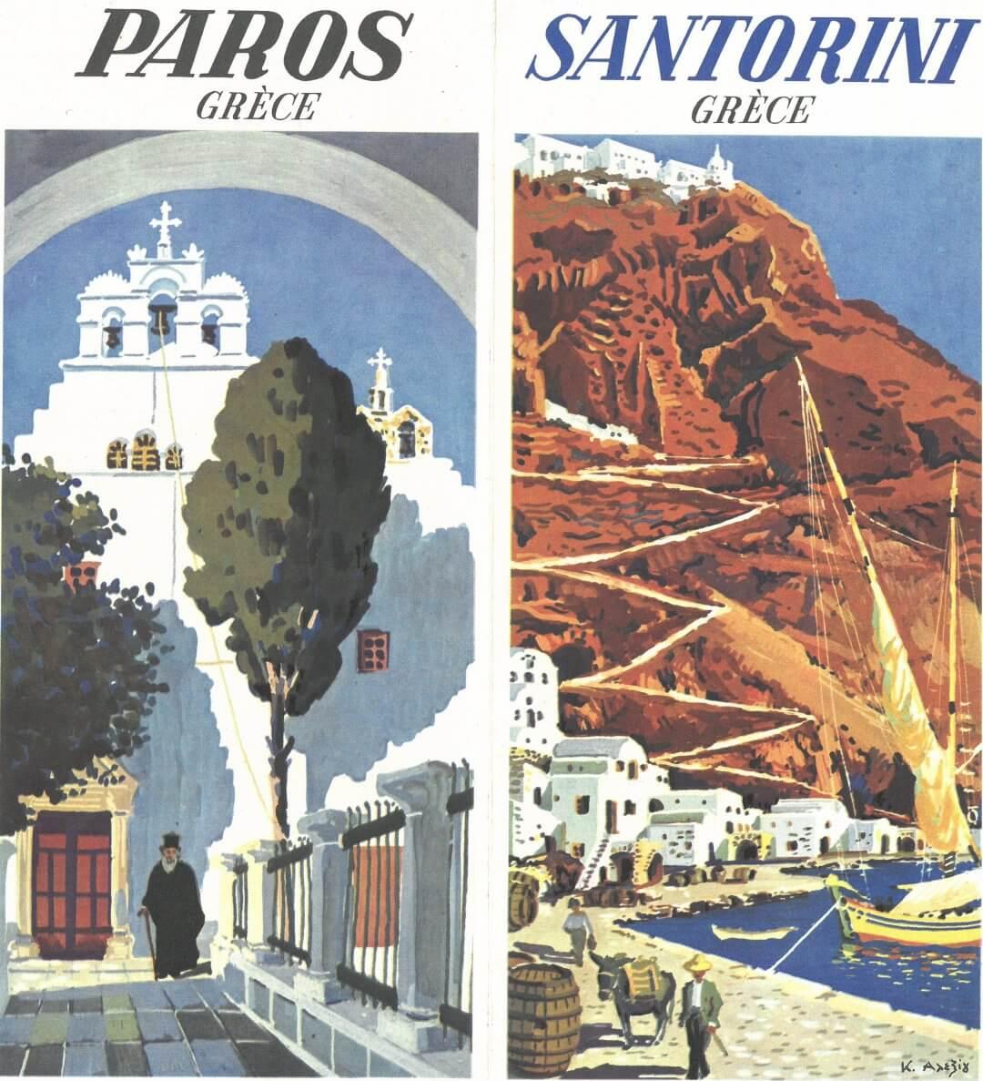 Paros Santorini Greece