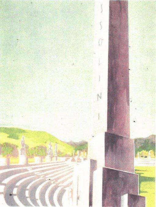 Rome Stadium Mussolini