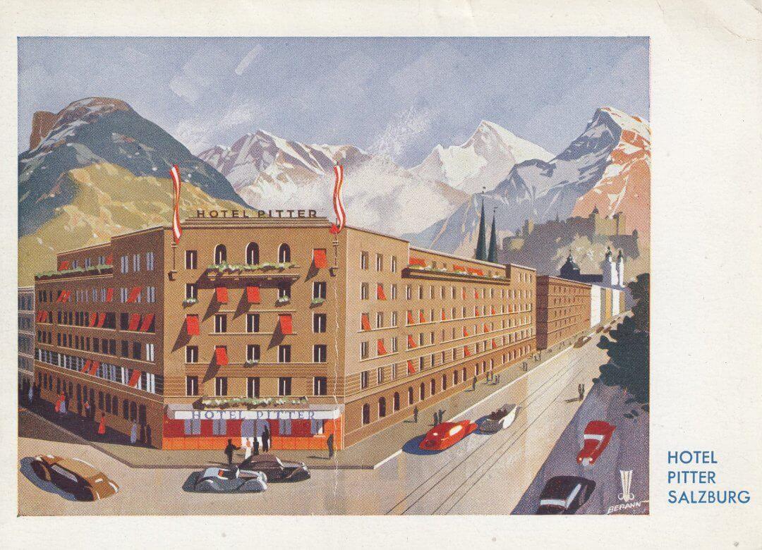 Salzburg - Hotel Pitter