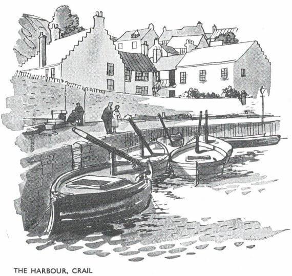 Scotland BR Crail Harbour