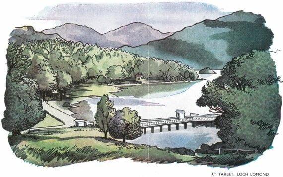 Scotland BR Loch Lomond