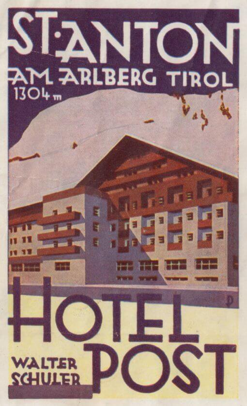 St Anton - Hotel Post