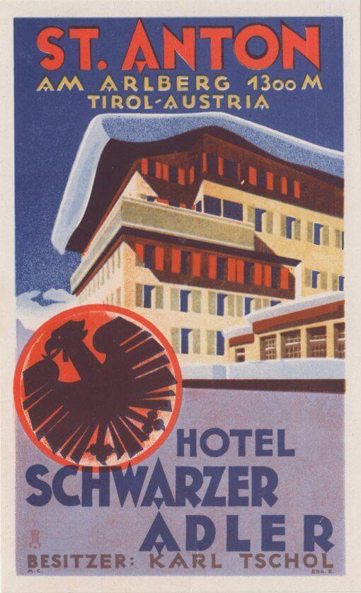 St Anton - Hotel Schwarzer Adler