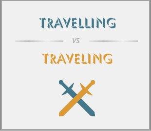 Traveling vs Travelling