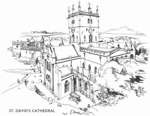 Wales BR St David Cathedral