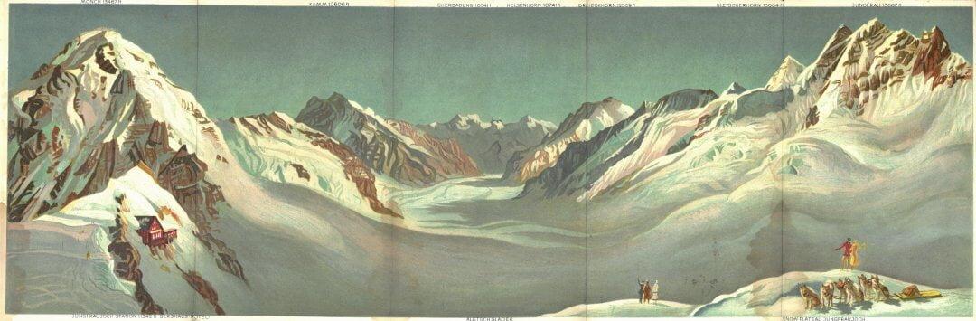 Wengernealp Jungfrau Panorama