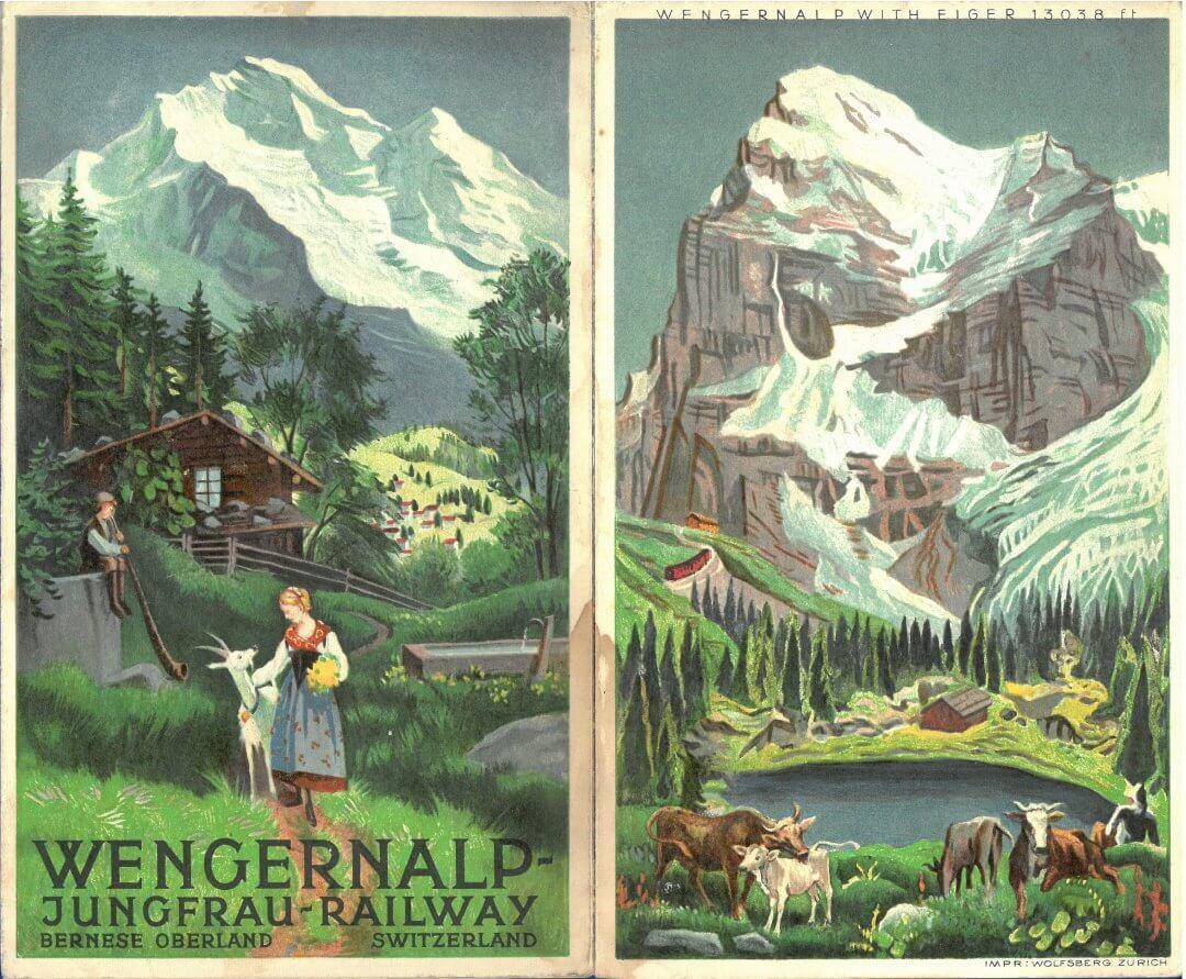 Wengernealp Jungfrau Railway