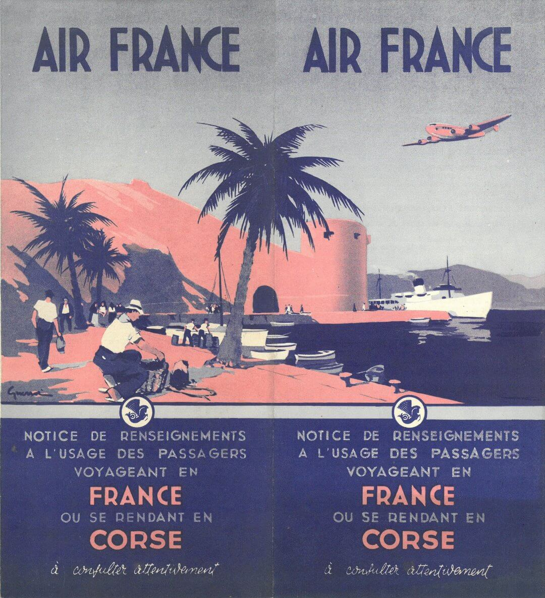 Air France to Corsica