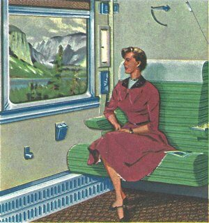 Canadian Pacific Roomette
