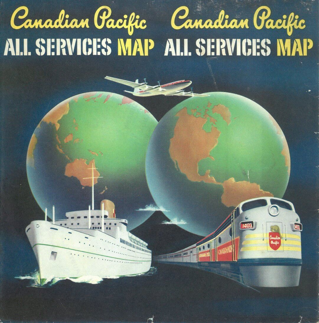 Canadian Pacific All Services Map
