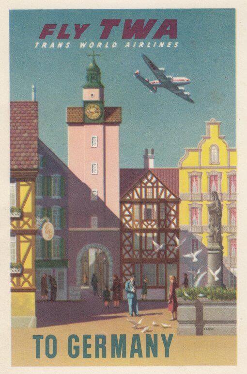 Fly TWA to Germany