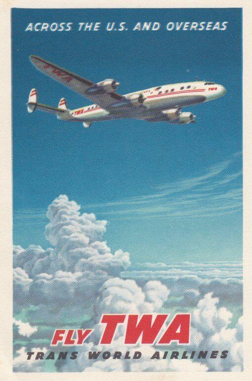 Fly TWA USA Overseas