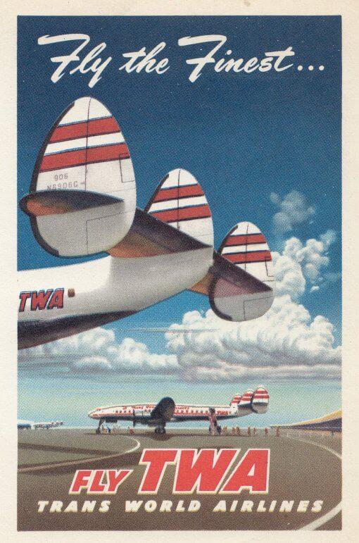 Fly TWA finest