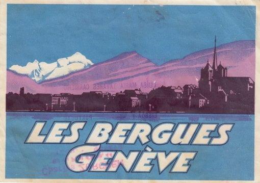 Hôtel les Bergues, Geneva