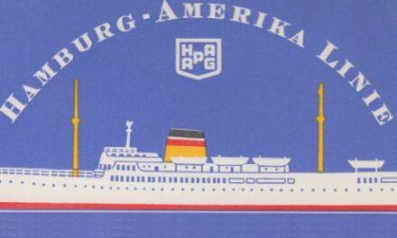 Ariadne, Hamburg Amerika Linie