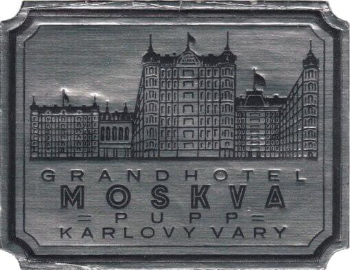 Grand Hotel Moskva Pupp, Karlovy-Vary