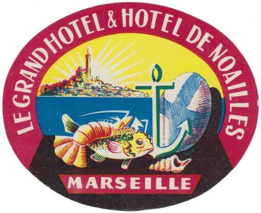 Marseille - Grand Hôtel & Hôtel de Noailles
