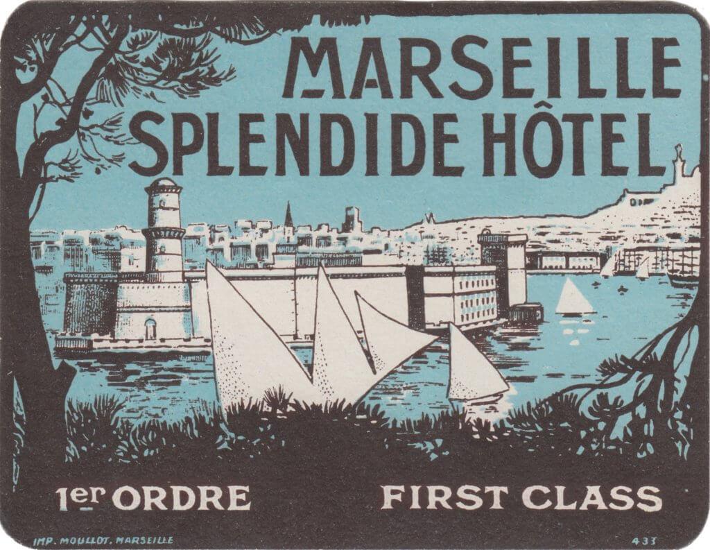Marseille - Splendide Hôtel