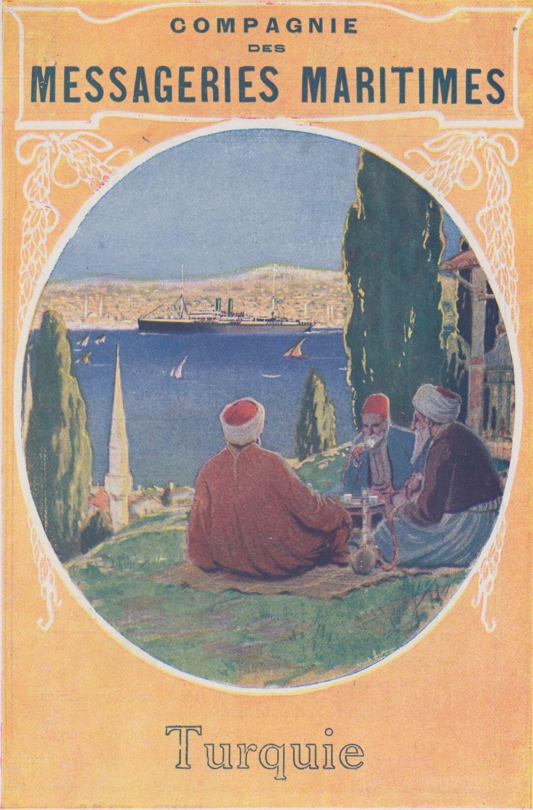 Turkey, Messageries maritimes