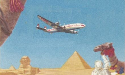 Fly TWA to Egypt