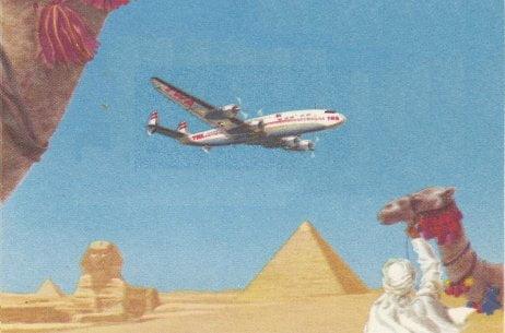 Fly TWA to Egypt