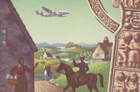 Fly TWA to the UK, Ireland & Switzerland